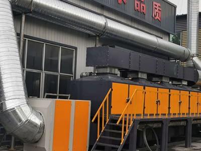 蓄热式催化燃烧设备现货供应 环保厂
